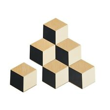 Areaware : Table Tiles Coasters - Black