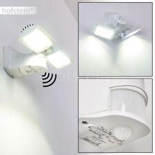LED Außen Wand Leuchte Bewegungsmelder Einfahrt Hof Haus Tür Terrasse Lampe weiß