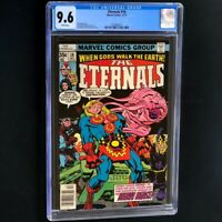 Eternals #18 (1977) 💥 CGC 9.6 White Pages 💥 Jack Kirby Story! Marvel Comic
