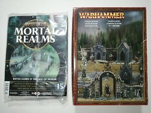Garden of Morr + Mortal Realms 15 - Sigmarite Mausoleum - 28mm Scenery - WarCry