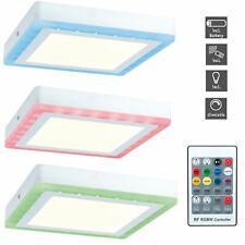 Paulmann LED Panel Aufputzlampe Deckenlampe Aufputz Aufbau Wandleuchte RGB Ferin
