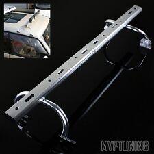 Silver Adjustable Gutter Mounting Roof Rack Light Bar for Off Road Light/LED Bar