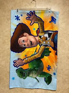 Disney Pixar Toy Story 2-Sided PILLOWCASE Buzz Lightyear & Woody Microfiber