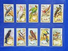 More details for 20x original capstan cards birds of australia (1912) wills vice regal