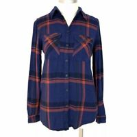 Urban Outfitters BDG Women's Size Small Plaid Flannel Button Down Shirt