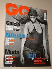 NAOMI CAMBELL COVER MAGAZINE GQ 2006=ALEK WEK=ROBBIE WILLIAMS=JENNIFER ANISTON=