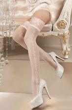 Ballerina 119 lace top bridal wedding day hold ups lingerie hoisery S M L XL UK