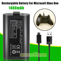 Rechargeable Battery kit 1400-mAh Battery with Cables For Xbox One Controller