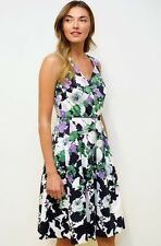 Talbots Oprah Collection Sleeveless Floral Cotton Dress NWT 18WP  18P 18 $209