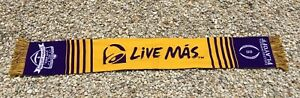 LSU Tiger Taco Bell College Football Championship Student Section LIVE MAS Scarf
