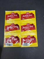 2 Strips 6 Packets Baker's Corner ACTIVE DRY YEAST Baking Bread .25oz each