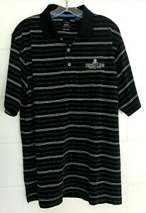 Page & Tuttle Mens Polo Golf Shirt UNIVERSITY PARK COUNTRY CLUB  UPCC Large L LG
