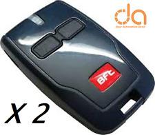 2 X AUTHENTIC ORIGINAL BFT MITTO B2 REMOTE CONTROL FOB