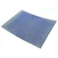 Real Titanium Radiator Guard Universal Mesh 16inches x 12inches by R&G Racing