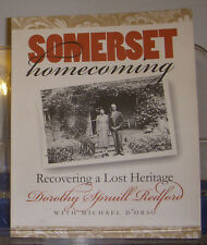 Somerset Homecoming Recovering A Lost Heritage 2000 North Carolina Genealogy