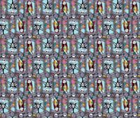Disney 65164 Sally and Jack Stained Glass 100% Cotton fabric by the yard