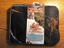 "Realtree Xtra Colors 10"" Tablet iPad Sleeve Cover - Black Neoprene Eggcell Foam"