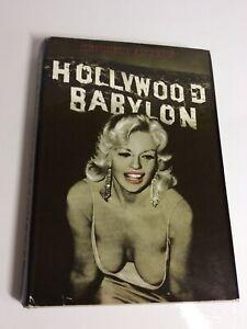 Kenneth Angers Hollywood Babylon Hard Cover Straight Arrow