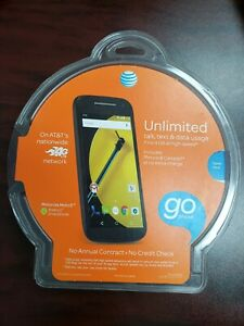 BRAND NEW ! SEALED ! Motorola Moto E AT&T(No-Contract) -- LOCKED - PREPAID