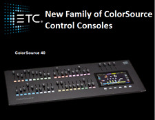 ETC ColorSource 40 Console - EASY Moving Head, LED Par, and Dimmer Control