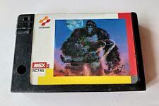 King Kong 2 - Yomigaeru densetsu MSX MSX2 action Game cartridge only tested-a89-
