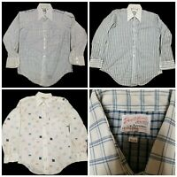 80920eb8 Lot of 3 Vintage 60s/70s Dectolene Knits by Arrow Men's Shirt Factory  Stamped