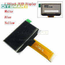 "1.54"" IIC SPI 128X64 OLED LCD Display SSD1309 3.3V Module for Arduino L2KO"