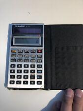 Sharp EL-540 Solar Power Scientific Calculator TESTED GUC VINTAGE