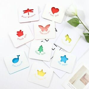 You Card Notecards Creative Hollow Out Greeting Card with Envelope & Stickers