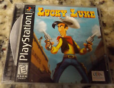 Lucky Luke - Sony Playstation 1 Ps1 Game Complete Cib Tested Works !