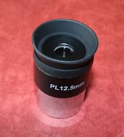 "One High Quality 1.25"" PLOSSL Lens for TELESCOPE.Focal Length 12.5mm, NEW, SALE!"