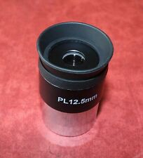 "One High Quality 1.25"" PLOSSL Lens for TELESCOPE.Focal Length 12.5mm, NEW, SALE!"
