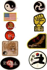 Set Karate Kid Replica Cobra Kai Suit Legs Embroidered Patches Johnny Lawrence