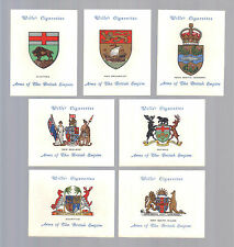Cigarette Cards.Wills Tobacco.Arms Of The British Empire Arms 2nd.(L).(1933).Set
