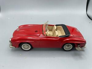 Vintage large Schuco 2097 Mercedes 190 SL Wind-Up Toy Car