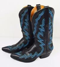 Vtg Men's Size 9.5D Custom Liberty Boot Co Handcrafted Western Cowboy Boots USA