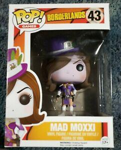 Funko Pop Games Borderlands Mad Moxxi Purple Dress Brand New Unopened Box