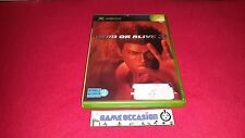 DOA DEAD OR ALIVE 3 XBOX MICROSOFT PAL COMPLET