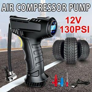Automatic LCD Digital Car Tyre Pump Inflator Cordless Handheld Air Compressor