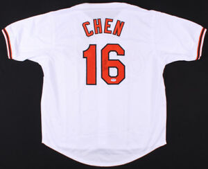 Wei-Yin Chen Signed Baltimore Orioles Jersey (PSA COA) Current Miami Marlins S.P