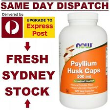 Now Foods, Psyllium Husk Caps, 500 Capsules