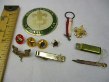 Vintage Lot of Mixed Boy Scout Pins, Plus Other (30)