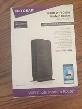 netgear n300 wifi cable modem router docsis