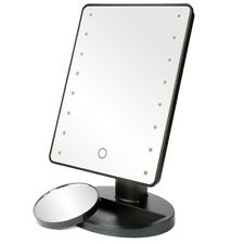 LED Light Illuminated Make Up Mirror Cosmetic with Magnification Round Mirror