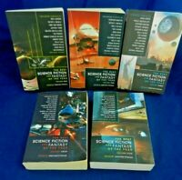 Best Science Fiction & Fantasy of the Year V 1-5, all 1st ED, Strahan,VG,Free SH