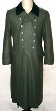 WW2 WWII GERMAN WH M36 M1936 FIELD GREY WOOL OVERCOAT GREATCOAT COAT SIZE M