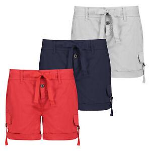 Fresh Made  Damen Shorts Bermuda Kurze Hose Short  Hotpants Leicht Sommer