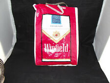 Vintage Retro Winfield Cigarettes Plastic Show Bag Anyhow have a Winnie Red