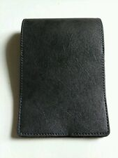 Grey Golf Scorecard Holder PGA Golf Yardage Book Cover Men Gift Golfer Leather