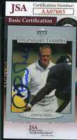 Chuck Noll 1997 Upper Deck Autograph Jsa Coa Authentic Hand Signed
